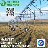 Sistema de irrigación de centro del eje