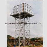 Torre de acero para depósito de agua