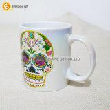 11oz Derrame de Petróleo de sublimación de promoción cerámica taza de café