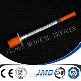 1ml Disposable Sterile Insulin Syringes con Fixed Needles