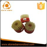 100 mm Snail-Lock Antique Abrasive Tool Diamond Brushes