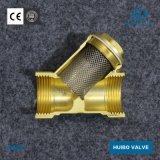 Clapet antiretour de haute qualité en laiton 1/2''-4''inch avec Y Type