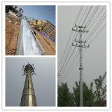 Стена платформы работы обеспечена с отверстием двери башни радиосвязи фабрики стальной Monopole
