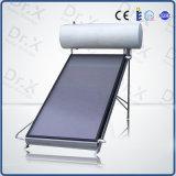 Calentadores de agua solares de panel plano de vidrio templado