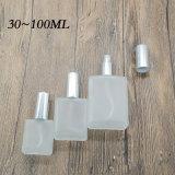 De berijpte Fles 30-100ml van het Glas voor Parfum of Schoonheidsmiddel