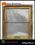 Blocco per grafici antico dello specchio della parete dell'oro di disegno per l'hotel