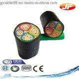 câble d'alimentation Unarmoured de PVC des faisceaux 600/1000V multi