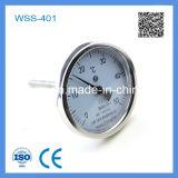 WSS-401 inossidabile di alta qualità Industria bimetallico Termometro