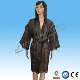 Kimono non tessuto blu scuro di SBPP SMS senza manicotti da Topmed