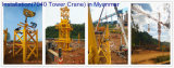 guindastes de torre superiores da construção do guindaste de torre dos jogos de 4ton Qtz50-5008