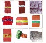 Высокое качество пользовательских красочные PE / PP Джэй Лино трубчатая сетка сумка для картофеля чеснок лук картофель Бич фруктов овощей