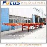 Eixo 2/3 40FT Estrado semi reboque transporte de contentores semi reboque
