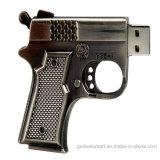 مصغّرة معدن مسدّس مدفع [أوسب] ذاكرة عصا لأنّ جديات هبة