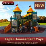 Сказовая пластичная спортивная площадка школы занятности детей (X1506-3)