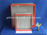 Resistencia a altas temperaturas filtro HEPA (HT)