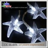 Sternförmige bunte Zeichenkette-Lichter des Dekoration-Batterie-Steuerled
