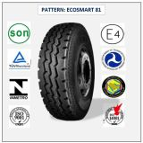 11r24.5 (ECOSMART 81) mit Qualitäts-LKW der Europa-Bescheinigungs-(ECE-REICHWEITE-KENNSATZ) u. Bus-Radialgummireifen
