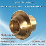 中国の工場価格の精密製粉の回転CNCの機械化の真鍮の部品