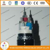 아BS 편평한 벌거벗은 구리 또는 좌초된 주석으로 입힌 구리 Multi-Conductor PVC 절연제 PVC 재킷 바다 케이블 편평한 배 케이블 브레이크 케이블