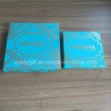 Logotipo estampado en oro de la calidad de embalaje de cartón caja de bombones de chocolate de verificación Mostrar