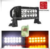 7.5 도로 빛과 LED 모는 빛 떨어져 SUV LED를 위한 인치 36W 번쩍이는 방수 LED 표시등 막대의 LED 차 빛
