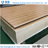 Cheap Price E1 Poplar/Hardwood Core Melamine Faced Plywood for Furniture
