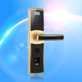 Calidad de la huella digital de alta y tarjeta de IC bloqueo de la puerta con reomote Controlador (UL-780)