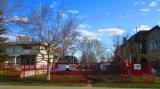 Pannelli di recinzione provvisori popolari del Canada