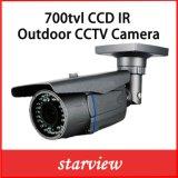 Het toezicht 700tvl maakt de Camera van de Veiligheid CCD van de Kogel van kabeltelevisie van IRL van het Gezoem waterdicht