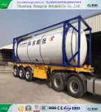 Het Vervoer van de Tanker van de Container van de doos voor de Aanhangwagen van het LNG van LPG