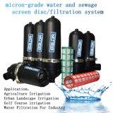 Exploração de tipo T, Sistema de água do filtro/bomba de piscina do tanque de água de irrigação médio do filtro de tela