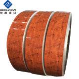 Il colore del materiale da costruzione della Cina di disegno di ASP ha ricoperto la bobina di alluminio di reticolo di legno