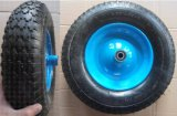 4.00-8 полиуретан PU колеса с пластиковым Rim