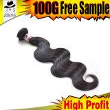 マレーシアの人間の毛髪の製品はDyeableである