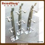 Balaustra personalizzata dell'acciaio inossidabile per l'inferriata del cavo nell'aeroporto (SJ-S1700)