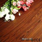 Pavimento di plastica del vinile del PVC dell'anti di slittamento serratura di legno di scatto