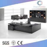 형식 가구 검정 행정상 책상 L 모양 사무실 테이블 (CAS-MD18A18)