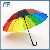 Бизнес-Гольф зонтик с прямой рукояткой Strong прочного