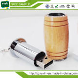 Bastone di legno su ordinazione del USB di stile per promozionale