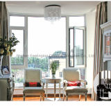 Finestra di alluminio della stoffa per tendine per la costruzione di residenza e della villa (FT-W135)