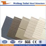 Helles Stahlkonstruktion-vorfabriziertes Haus-materielle Wand