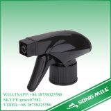 28/410 de pulverizador líquido do disparador da água preta dos PP para a limpeza