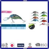 Qualität packt V-Kurbel Fischerei-Köder an