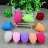 Le latex éponge éponge maquillage fournisseur chinois de la bouffée d'alimentation de haute qualité de bouffée de cosmétique