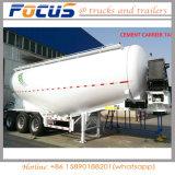 La Chine 50cbm de ciment en vrac / Pétrolier de poudre de la farine de remorque