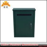Caja barata de Letterbox del poste del metal del nuevo diseño Bas-119
