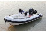 Aqualand 16pies 4,8m botes de rescate inflables rígido Rib/bote patrullero (RIB470A)