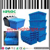 Farbiger faltbarer Griff-Korb-Speicher-Rahmen-Plastikkasten