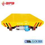 Carrello di trasferimento motorizzato uso dell'acciaieria per il trattamento di industria pesante