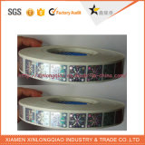 De aangepaste Gouden/Zilveren/Glanzende Sticker van het Hologram van de Veiligheid van de Regenboog